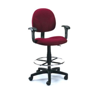Boss B1690 Or B1691 Adjustable (24u0027u0027 28.5u0027u0027) Drafting Stool