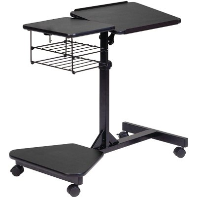 balt 42052 lapmaster height adjustable small workstation. Black Bedroom Furniture Sets. Home Design Ideas
