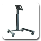 Chief MFMUB or MFMUS Flat Panel Confidence Monitor Cart for 30-55 inch Displays