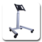 Chief PFMUB or PFMUS Flat Panel Confidence Monitor Cart for 42 to 71 inch Display