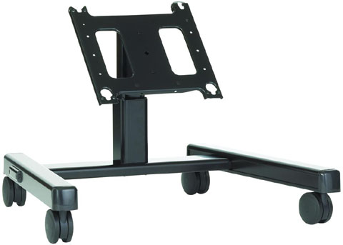 Chief PFQ2000B Flat Panel Confidence Monitor Lightweight Mobile Cart