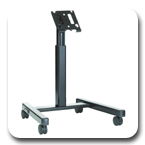Chief MFM6000B or MFM6000S Flat Panel Confidence Monitor Cart for 30-55 inch Displays