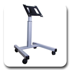 Chief PFM2000B or PFM2000S Flat Panel Confidence Monitor Cart for 42 to 71 inch