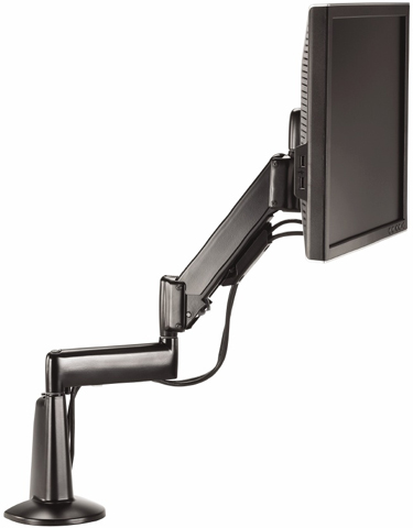 Chief KCG110 Desk Mount Flat Panel Height Adjustable Dual LCD Arm