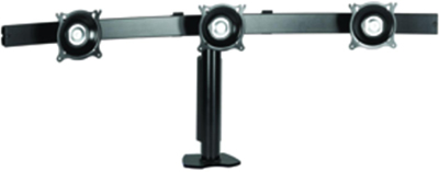 "Chief KTC 325B Triple Monitor Widescreen Horizontal Desk Clamp Mount for 10-24"" Displays"