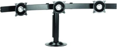 "Chief KTG 325B Triple Monitor Widescreen Horizontal Desk Grommet Mount for 10-24"" Displays"