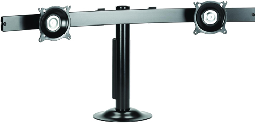 Chief KTG225B or KTG225S Grommet Desk Mount Widescreen Dual Monitor LCD Arm