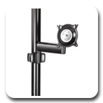 Chief KPS110 Flat Panel Single Swing Arm Pole Mount (up to 26 inch)
