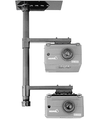 Chief LCD2C Multiple LCD Projector Ceiling Stacking System