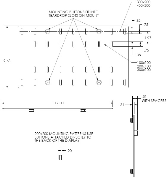 Chief MSBV Technical Drawing
