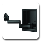Chief JWDIW Series In-Wall Swing Arm Wall Mount for 26-40 inch Display