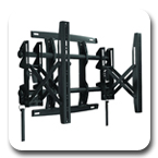 "Chief MSMVU FUSION Flat Panel Pull-Out Video Wall Mount for 26"" to 47"" Displays"