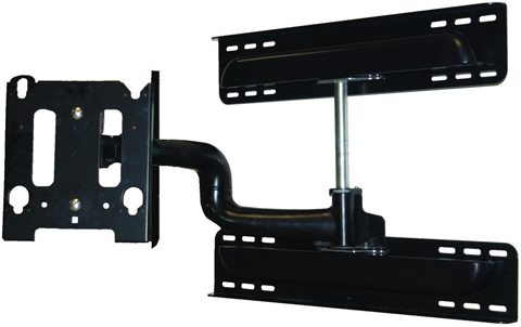 "Chief MWRSKUB Universal Flat Panel Steel Stud swing Arm Wall Mount for 30"" to 50"" Displays Black"
