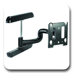 Chief MWRUB or MWRVB Wall Mount Flat Panel Swing Arm for 30 to 50 inch LED Displays