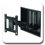 "Chief PNRIWUB Universal Flat Panel In-Wall Swing Arm Wall Mount for 42"" to 71"" Displays"