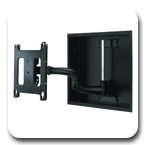 "Chief PWRIWUB Large Flat Panel In-Wall Swing Arm Wall Mount for 37"" to 55"" Displays"