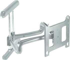 Chief PDRUS Wall Mount Universal Flat Panel Dual Swing Arm Silver