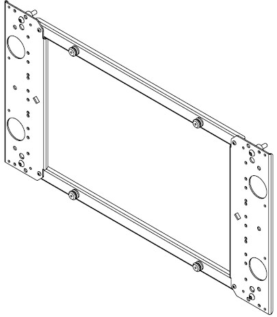 Chief PSB-2022 Interface Bracket for Extra Large Flat Panel Mounts