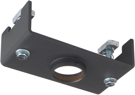 Chief CMA 372 Offset Unistrut Structural Adapter Black
