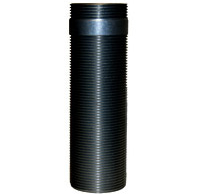 "Chief CMSZ006 Fully Threaded Column 0-6"" (0-152 mm) Black"