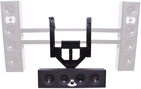 "Chief PACCC2 Center Channel Speaker Adapter for 46""-65"" Display Black"