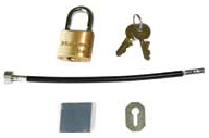 Chief PAC-LK1 Cable Lock Security Accessory for Chief RMF2, RLF2 and RXF2