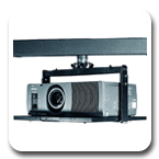 Chief LCDA Series Non-Inverted LCD or DLP Projector Ceiling Mount