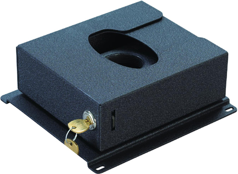 Chief PL2A Security Lock Enclosure for Small RPA Series Projector Mounts Black