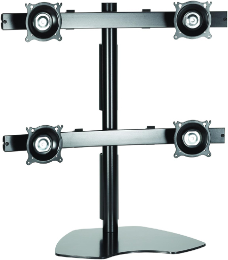 Chief KTP440 Quad Table Stand Flat Panel Monitor Mounts