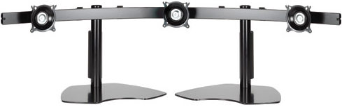 "Chief KTP325B or KTP325S Triple Monitor Widescreen Horizontal Table Stand for 10""-24"" Display"