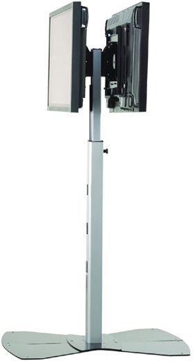 Chief MF26000 Flat Panel Dual Display Floor Stand Mount