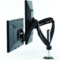 Chief K1C200 KONTOUR Dynamic Column Clamp Mount, Dual Monitors