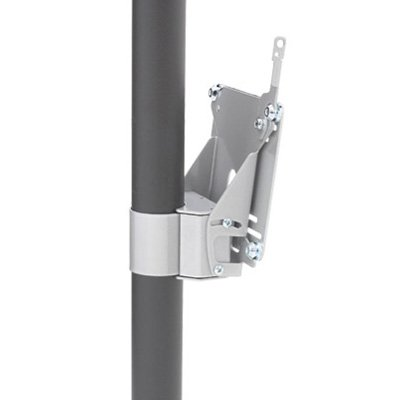 Chief FSP4101B or FSP4101S Small Single Display Pole Mount