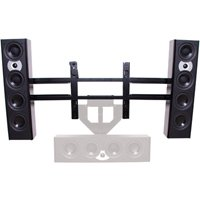 "Chief PACLR2 Left or Right Speaker Adapter for 46""-65"" Displays Black"