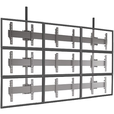 Chief Lcm3x3u Fusion Large Ceiling Mounted 3x3 Video Wall
