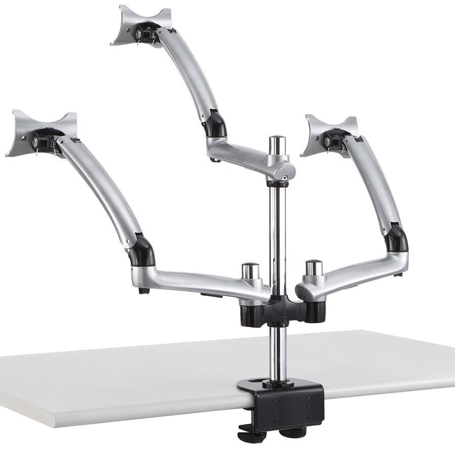 Cotytech Dm Gsta Triple Apple Monitor Desk Mount Spring Arm