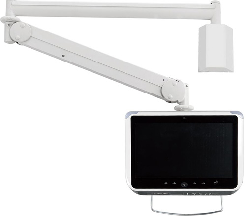 "Cotytech MW M23P Long Reach (up to 73"" Extension) Wall Mount LED Arm"
