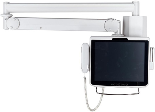 "Cotytech MW M25P Long Reach (up to 73"" Extension) LCD Monitor Arm Wall Mount"