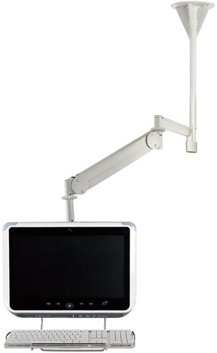 Cotytech CM M23K Long Reach LED Ceiling Mount Medical Arm up to 13.2 lbs