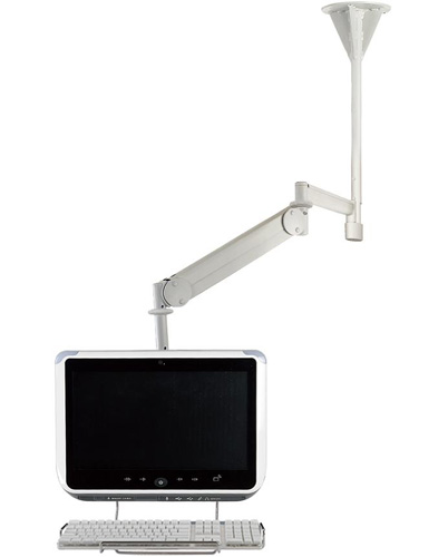 Cotytech CM M25K Long Reach LED Ceiling Mount Medical Arm up to 26.4 lbs