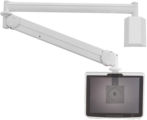 "Cotytech MW M13P Long Reach (up to 73"" Extension) Wall Mount Medical LED Arm"