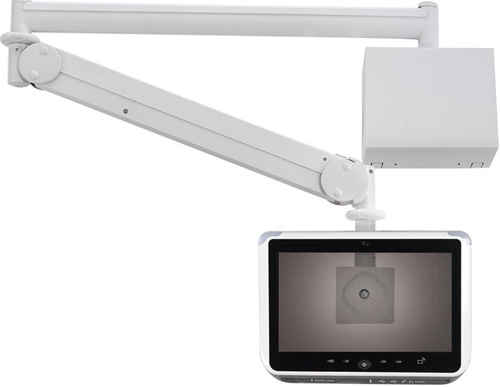 "Cotytech MW M13WB Long Reach (up to 73"" Extension) Wall Mount Medical LED Arm with Wall Box"