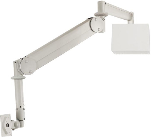 "Cotytech MW M15WB Long Reach (up to 73"" Extension) Wall Mount Medical LED Arm with Wall Box"