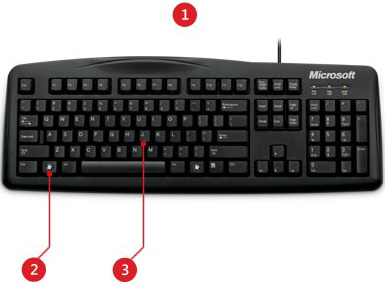 Microsoft JWD 00046 Wired Reliable Durable 200 Keyboard