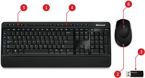 microsoft wireless keyboard 4000 euro to dollars