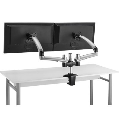 Ergotech Fdm Pc S02 Height Adjustable Dual Monitor Freedom Arm