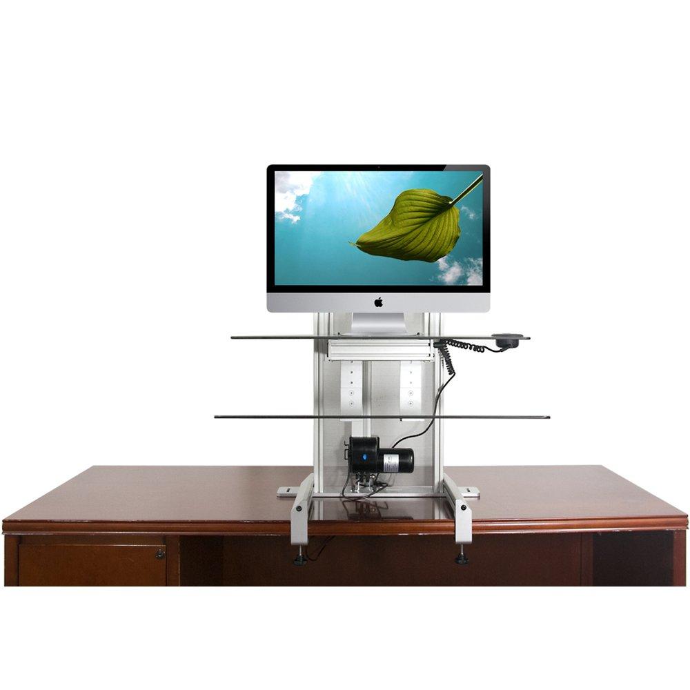 Ergotech 700 Drop G One Touch Drop Down Sit Stand Workstation