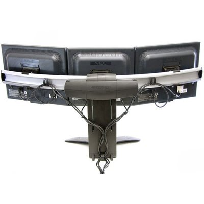 Ergotron 33 296 195 Lx Triple Widescreen Dual Display Lift