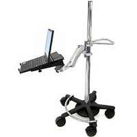 Ergotron Mobile WorkStand with LX Notebook Arm
