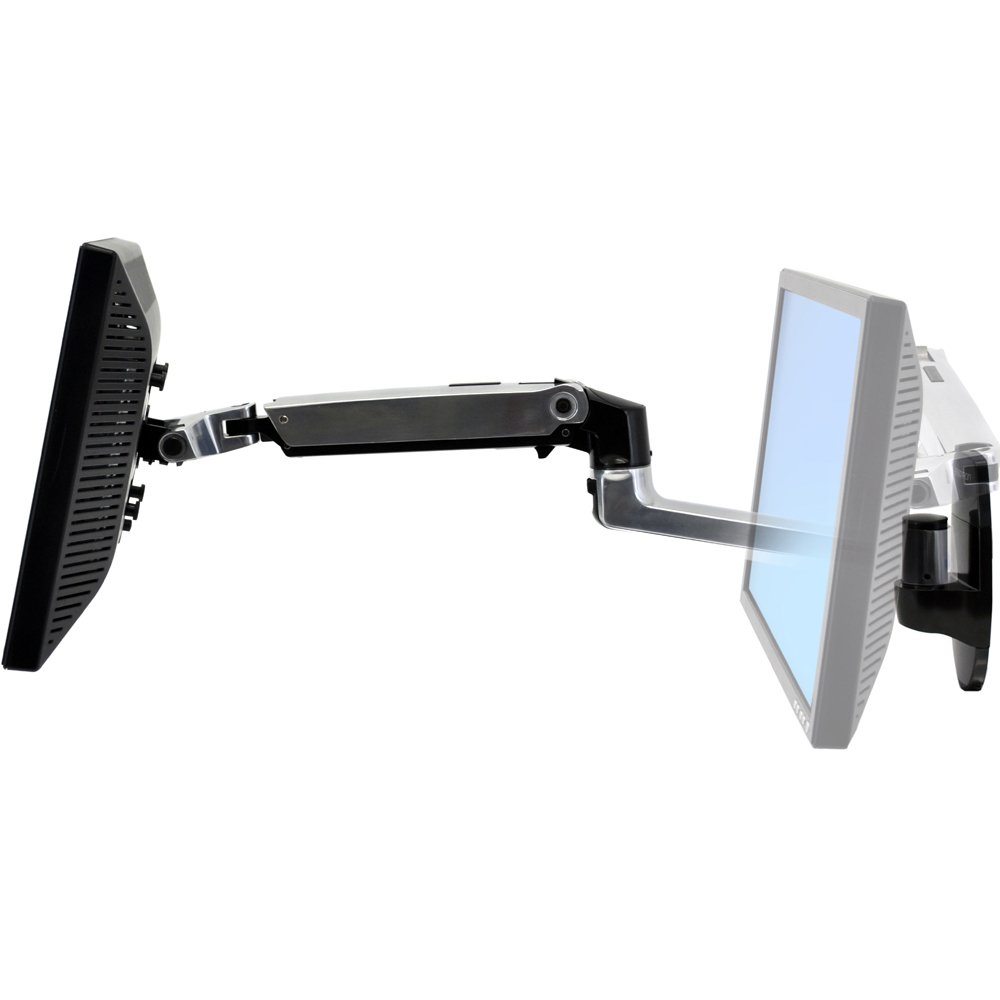 Monitor Arm 45-243-026 Ergotron LX Wall Mount LCD